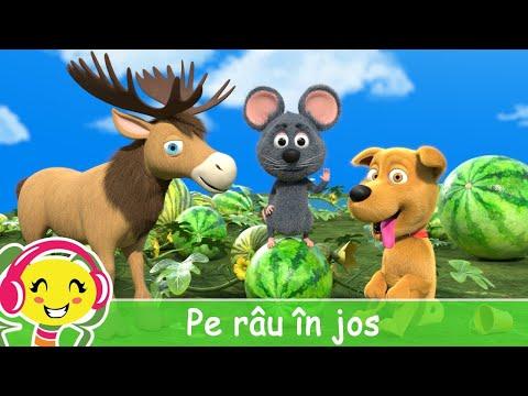 Pe rau in jos  Cantece Gradinita .ro – Cantece pentru copii in limba romana