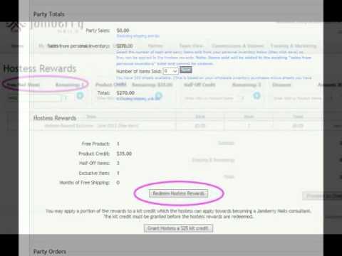 Redeeming Hostess Rewards - YouTube