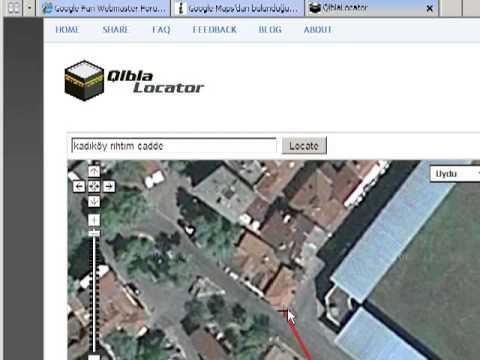 Google Haritalar Ile Kıble Yönünü Bulma Youtube