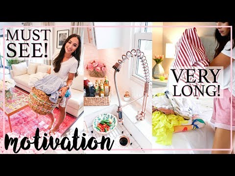 ALL DAY CLEAN WITH ME! ULTIMATE CLEANING MOTIVATION WITH GOOD MUSIC | Alexandra Beuter