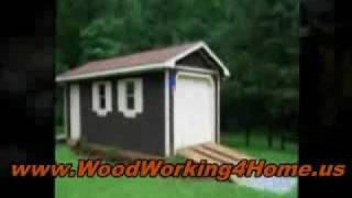 10x12 Shed Plans - A Simple & Classic Design, But Not Without Complications