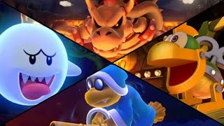 Mario Party 10 - All Boss Battle Minigames (2 Player)
