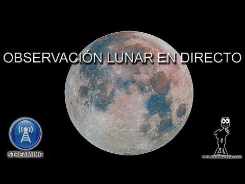 La Luna en directo | Streaming | The Moon from Madrid
