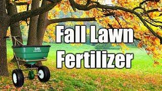 Lawn Fertilizer - Fall Lawn Fertilizer