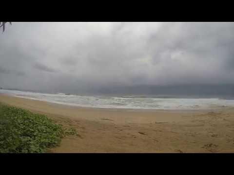 Sri Lanka Time lapse Storm December 2016