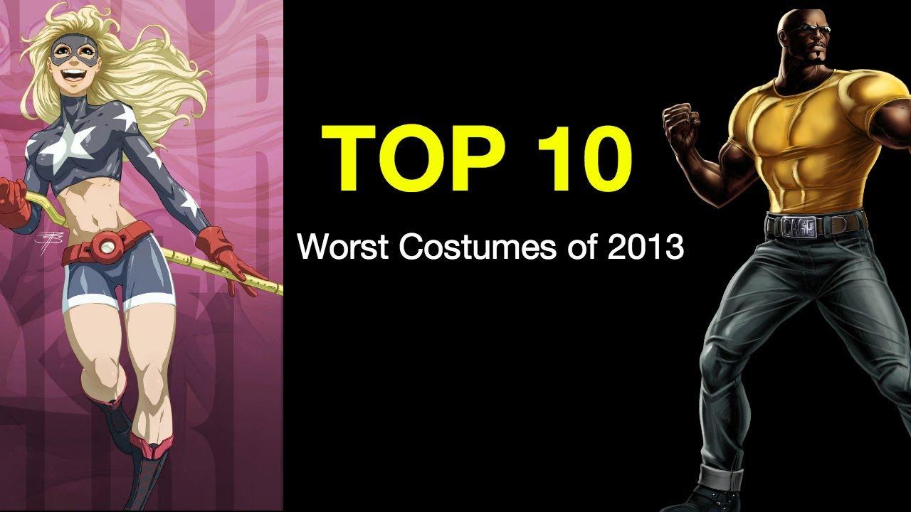 YouTube Premium  sc 1 st  YouTube & Top Ten Worst Comic Book Costumes of 2013 - The X-Men Falcon ...