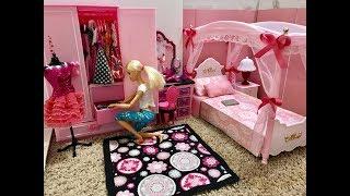 Video Barbie Bedroom Morning Routine!! Bathroom, breakfast... download MP3, 3GP, MP4, WEBM, AVI, FLV Agustus 2017