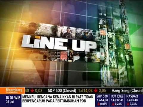 Bloomberg TV Indonesia's Line-Up