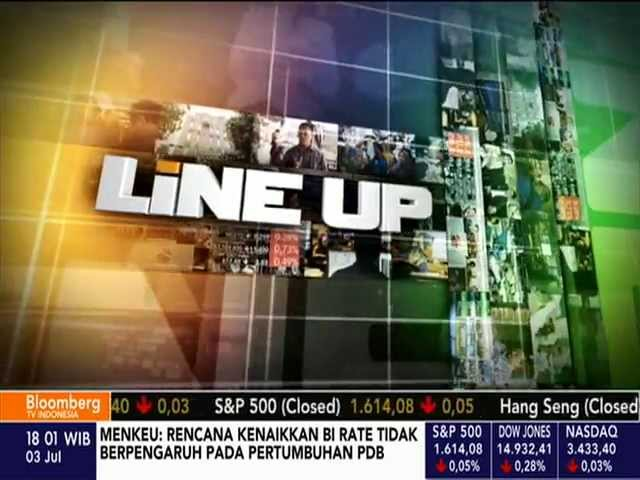 Bloomberg TV Indonesias Line-Up