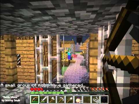 [OLD] Minecraft- Invasion mod- Battle #1: City Walls