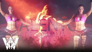 Wolfine - Talento de su mama | Video Lyric
