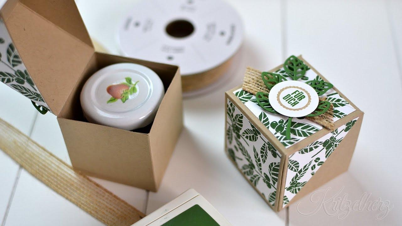 marmeladen foldover box anleitung verpackung stampin 39 up youtube. Black Bedroom Furniture Sets. Home Design Ideas
