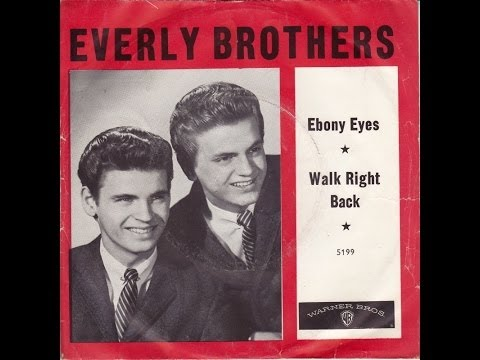 The Everly Brothers ~ Walk Right Back ~ longer version Remix ~