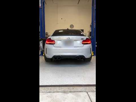M2 Competition Cold Start - Remus Sport Exhaust with AA Midpipe