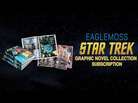 Unboxing: Eaglemoss Star Trek Graphic Novel Collection Month 1