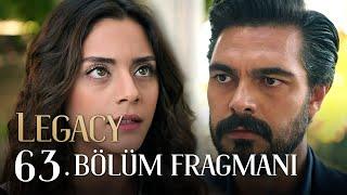 Emanet 63. Bölüm Fragmanı | Legacy Episode 63 Promo (English \u0026 Spanish subs)