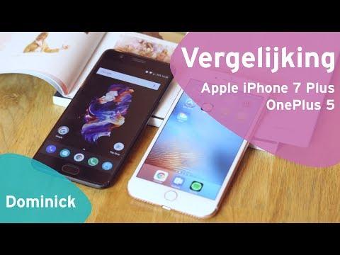 OnePlus 5 vs Apple iPhone 7 Plus review (Dutch)