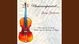 Sonata for Solo Violin, AK 69: IV. Adagio quasi Recitivo - Allegro molto moderato - Adagio...