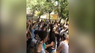 איראן מחאה הפגנות בבזאר בטהרן ובכרמנשאה