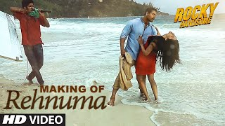 REHNUMA Song Making Video | ROCKY HANDSOME | John Abraham, Shruti  Haasan | T-Series