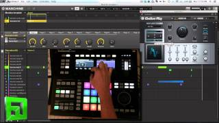Maschine and Guitar Rig Making Drums sing (alternative uses for Reflector) Convolution Reverb tricks