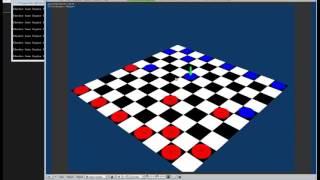 Timelapse Game Dev - Checkers Blender