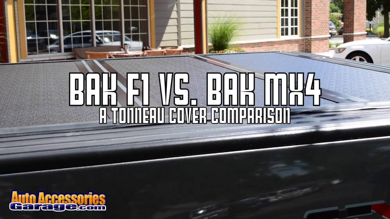 Bakflip F1 Tonneau Cover Vs Mx4 Cover Side By Side Youtube
