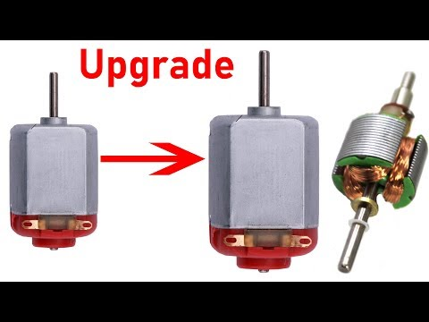 Improve DC Motor by Increasing Speed and Power - How to upgrade DC motor