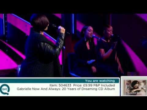 Gabrielle  - Say Goodbye live on QVC