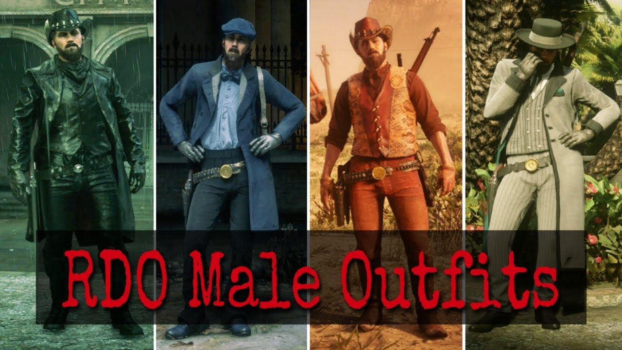 Red Dead Online MALE Outfit Ideas!