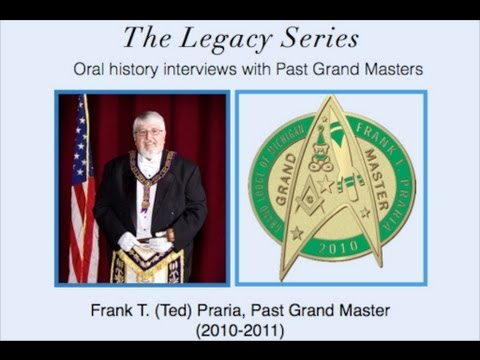Grand Master Frank T. (Ted) Praria 2011-2012