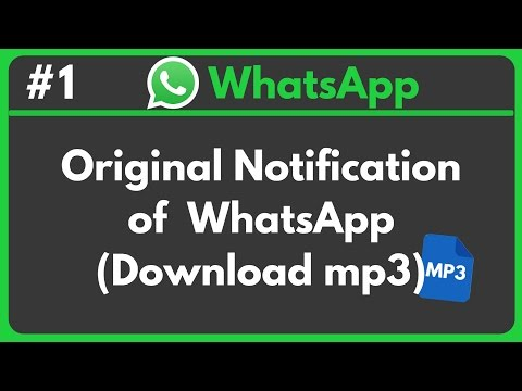 WhatsApp • Official Notification (Download MP3)