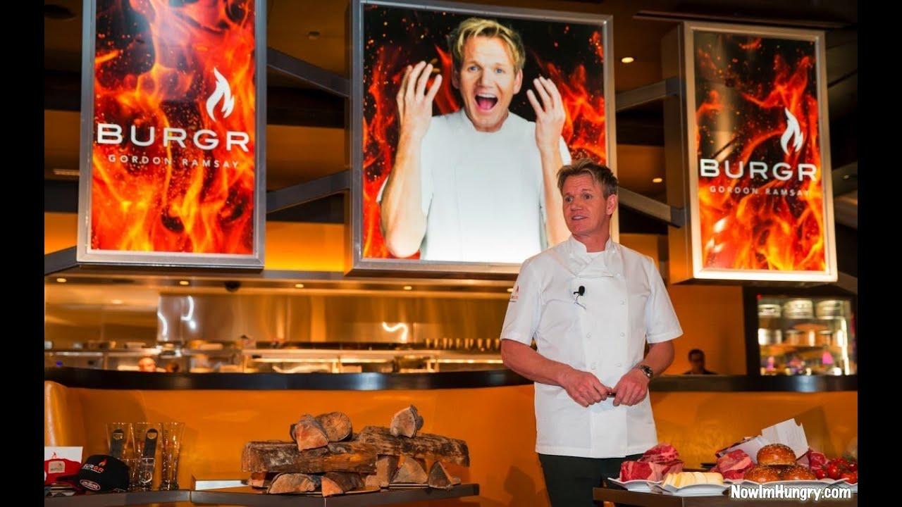 Gordon ramsay burgr las vegas youtube - Gordon ramsay cuisine cool ...