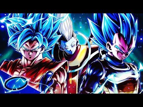 Dragon Ball Legends - SUPER DIFFICULT Challenge Rush BLU Stage! DB