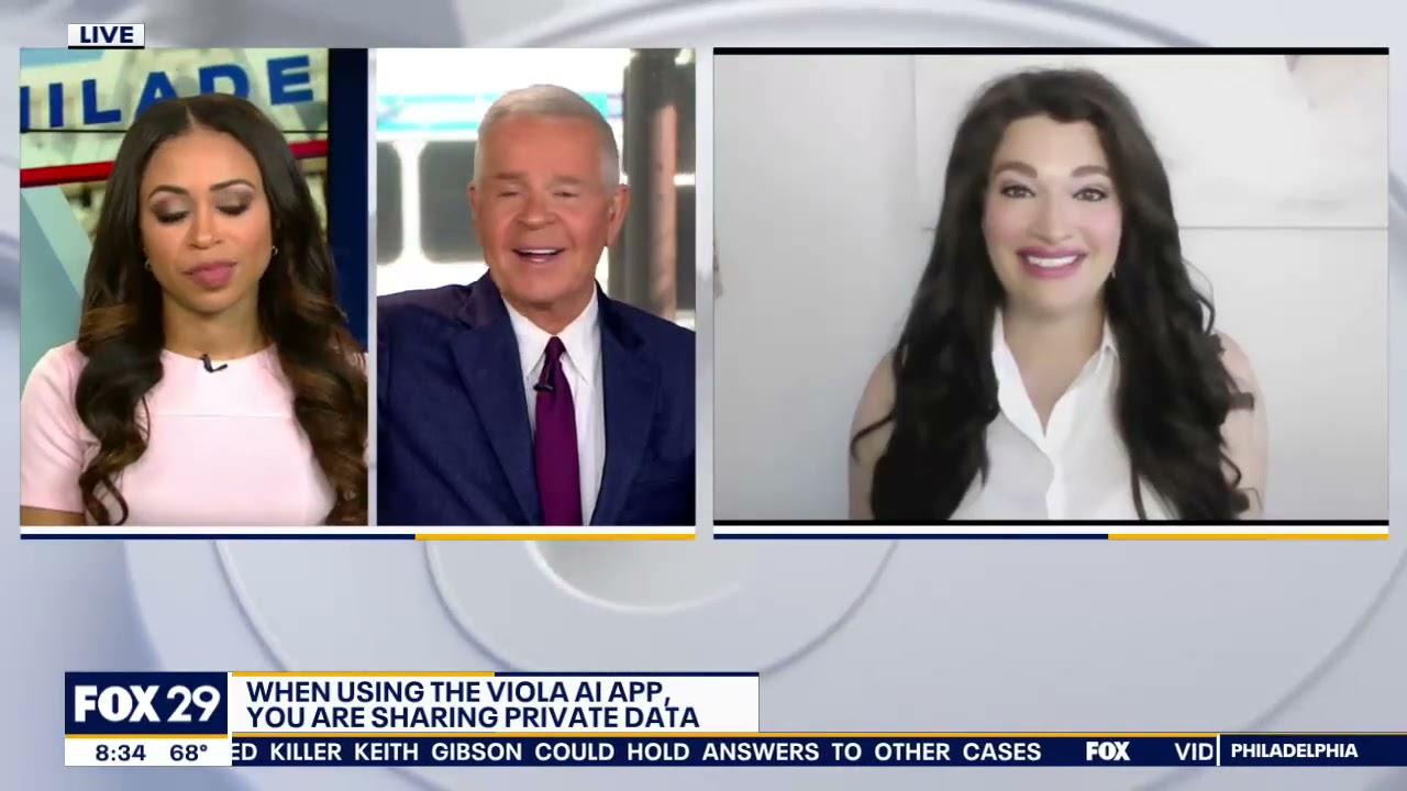 Fox 29 Philadelphia: Voila AI Artist Privacy Concerns
