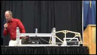 2013 Maine Transportation Conference Popsicle Stick Bridge Competition (1313 Lb)