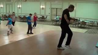 BACHATANGO MIO Line Dance Demo andTutorial with Ira Weisburd