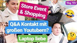 Q&A vom Mainpunkt Event l Store Event l Shoppen l Vlog 705