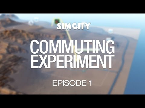 SimCity Commuting Experiment - Episode 1