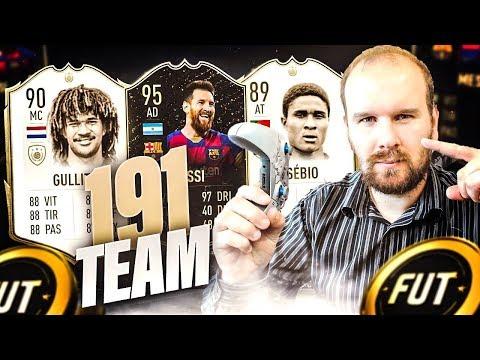 MA TEAM A 191 ( 10EME MONDIAL) AVEC MA NOUVELLE TACTIQUE PERSO EN 4411 ! FIFA 20