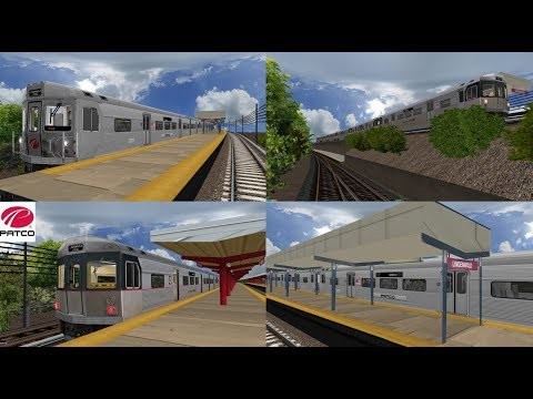 Download OpenBVE: Railfanning Along the PATCO High Speed