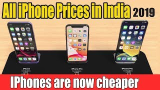 All iPhone Price in India | 2019 UPDATED | Updated Prices of IPhones | New iPhone Prices