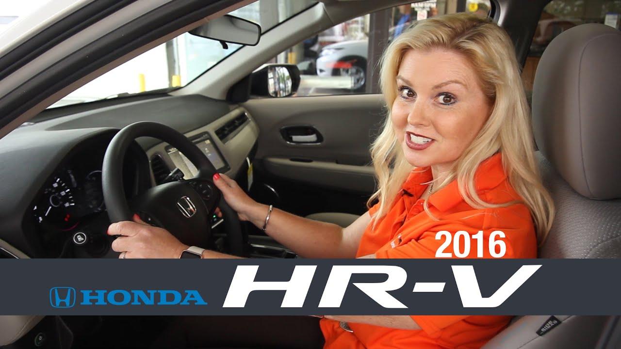 2016 Honda HR-V review - University Honda, Corvallis OR. - YouTube