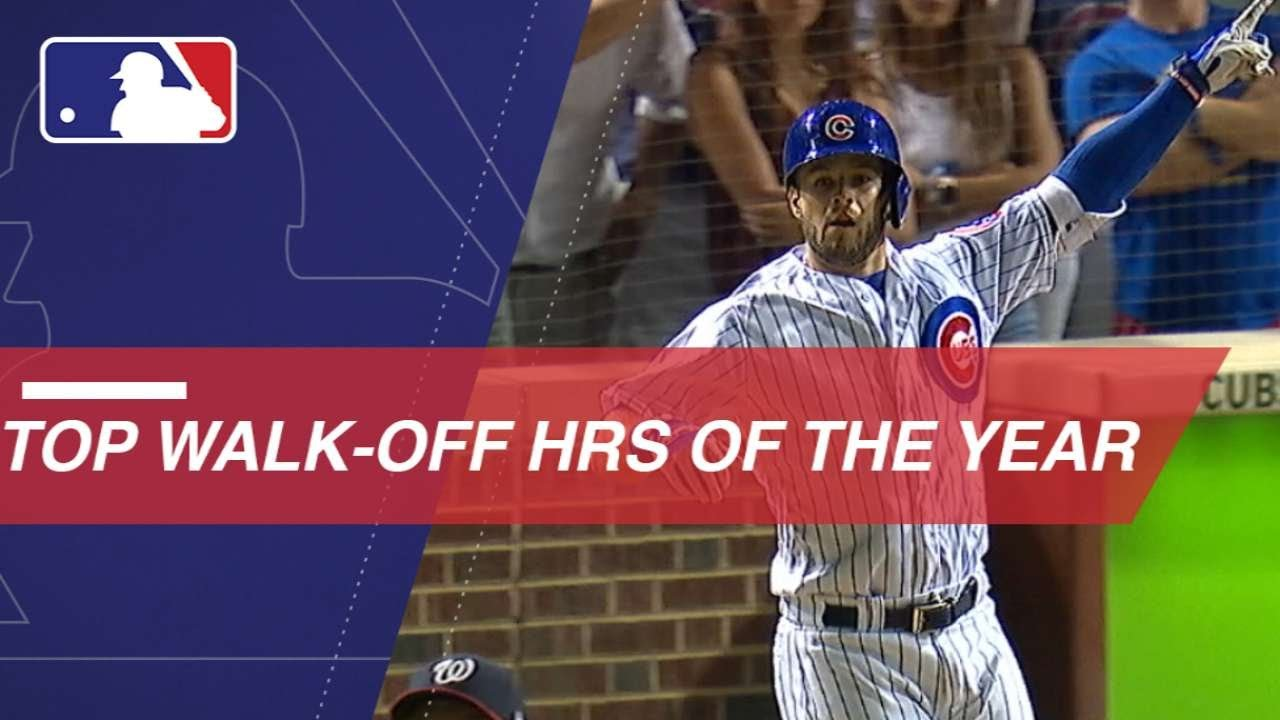 Mlb S Top Walk Off Home Runs From The 2018 Season