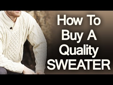 9d7e7d40b 5 Tips On Buying A Quality Sweater | How To Buy Mens Sweaters | Man's Guide  To Sweater Purchasing
