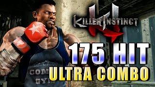 T.J. COMBO: 175 hit TRIPLE ULTRA COMBO (1440p HD) - Killer Instinct Season 2