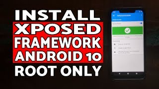 Gambar cover Install Xposed Framework on Android 10 | Xposed Framework Android 10