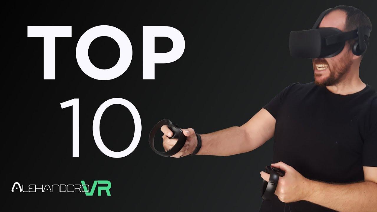 Realidad Virtual Mi Top 10 Mejores Juegos De Pc Vr Youtube