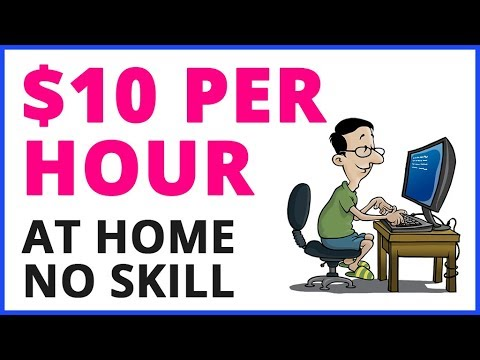 Make $10 Every 60 Min At Home - Work From Home Jobs
