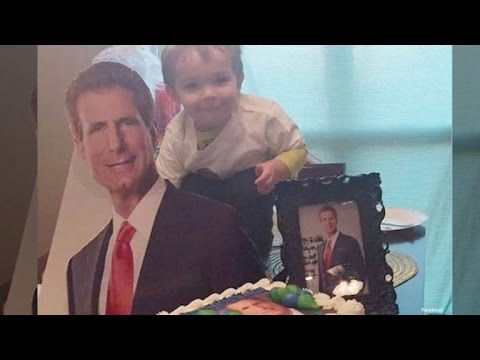 Mom Throws Themed 2nd Birthday for Son Obsessed with Personal Injury Lawyer